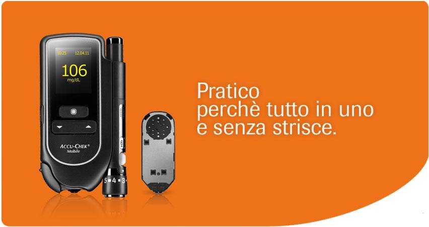 Accu-Chek Mobile, pratico perchè tutto in uno e senza strisce